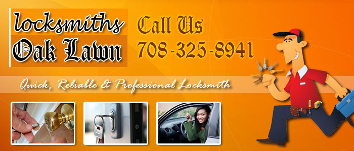 Locksmiths Oak Lawn Banner